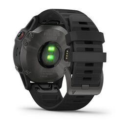 Мультиспортивные часы Garmin Fenix 6 Sapphire с GPS, серые с черным ремешком (010-02158-11) #8