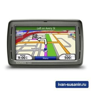 GPS навигатор Nuvi 800-серии - немного подробностей