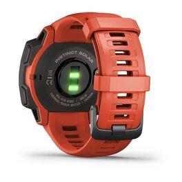 Защищенные GPS-часы Garmin Instinct Solar, цвет Flame Red (010-02293-20) #7