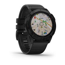 Мультиспортивные часы Garmin Fenix 6X PRO с GPS, черные с черным ремешком (010-02157-01) #2