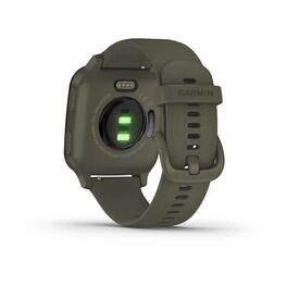 Смарт-часы Garmin Venu Sq NFC Music с серым безелем и темно-зеленым ремешком (010-02426-13) #5