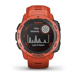 Защищенные GPS-часы Garmin Instinct Solar, цвет Flame Red (010-02293-20) #9