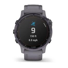 Мультиспортивные часы Garmin Fenix 6S Pro Solar GPS, аметистовый с темно-серым ремешк (010-02409-15) #5