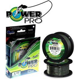 Леска плетеная power pro 135м moss green 0,19 (pp135mgr019). Артикул: PP135MGR019