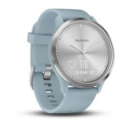Часы с трекером активности Garmin VivoMove HR Sport, серебр., силик.ремеш. 107-177мм (010-01850-08) #2
