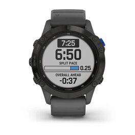 Мультиспортивные часы Garmin Fenix 6 Pro Solar с GPS, черный с серым ремешком (010-02410-11) #2