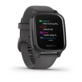 Смарт-часы Garmin Venu Sq NFC серые с серым силиконовым ремешком (010-02427-10) #1