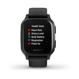 Смарт-часы Garmin Venu Sq NFC Music черные с серым (010-02426-10) #7