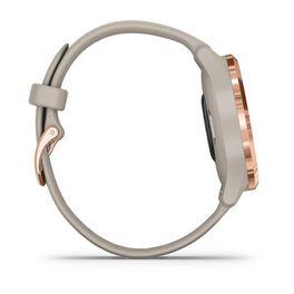 Часы с трекером активности Garmin VivoMove 3S, розовое золото с песочным ремешком (010-02238-22) #4