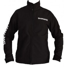 Куртка shimano soft shell jacket (black) xl (shsoftshellxl). Артикул: SHSOFTSHELLXL