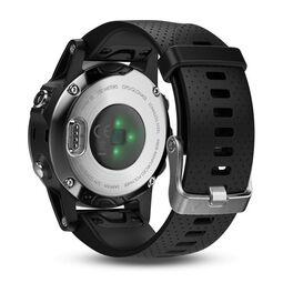 Мультиспортивные часы Garmin Fenix 5S с GPS, серебристые с черным ремешком (010-01685-02) #4