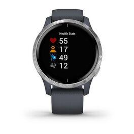 Смарт-часы Garmin Venu, Wi-Fi, Blue Granite/Silver с GPS (010-02173-03) #1