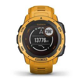 Защищенные GPS-часы Garmin Instinct Solar, цвет Sunburst (010-02293-09) #5