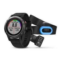 Спортивные часы garmin fenix 5 серые с черным ремешком и hrm-tri Garmin. Артикул: 010-01688-30