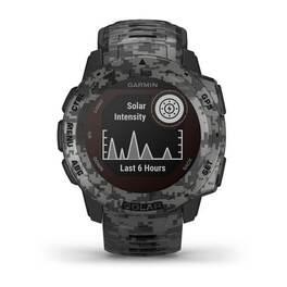 Защищенные GPS-часы Garmin Instinct Solar, цвет Graphite Camo (010-02293-05) #1