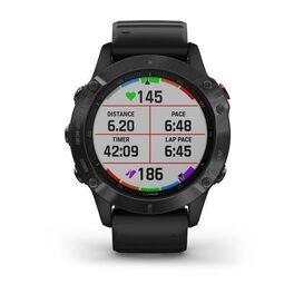 Мультиспортивные часы Garmin Fenix 6 PRO с GPS, черные с черным ремешком (010-02158-02) #5