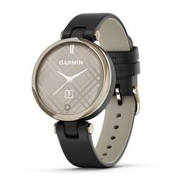 Фэшн смарт-часы garmin lily creamgold black leather (010-02384-b1). Артикул: 010-02384-B1