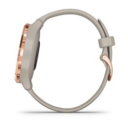 Часы с трекером активности Garmin VivoMove 3S, розовое золото с песочным ремешком (010-02238-22) #6