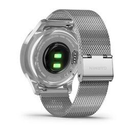 Часы с трекером активности Garmin VivoMove Luxe серебристый с серебристым ремешком (010-02241-23) #5