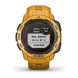 Защищенные GPS-часы Garmin Instinct Solar, цвет Sunburst (010-02293-09) #4
