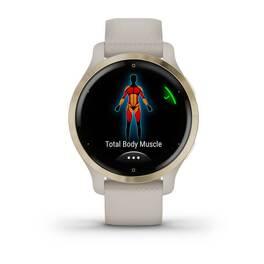 Смарт-часы Garmin Venu 2S, Wi-Fi, GPS, песочные, золото, с силиконовым ремешком (010-02429-11) #4