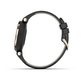 Фэшн смарт-часы Garmin Lily CreamGold Black Leather (010-02384-B1) #7