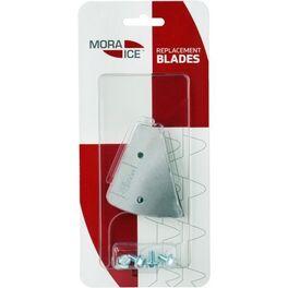 Сменные ножи mora ice для ручного ледобура micro, arctic, expert pro 200 мм. (с болтами для крепления). Артикул: 20589