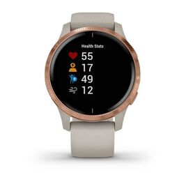 Смарт-часы Garmin Venu, Wi-Fi, Sand/Rose Gold с GPS (010-02173-23) #7