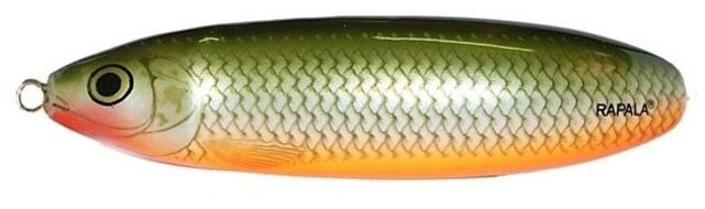 Блесна Rapala Minnow Spoon незацепляйка  10см,  32гр. (RMS10-RFSH)