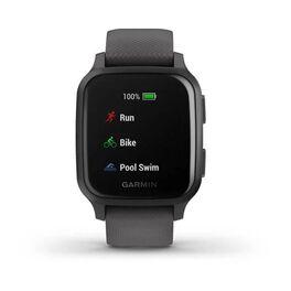 Смарт-часы Garmin Venu Sq NFC серые с серым силиконовым ремешком (010-02427-10) #4