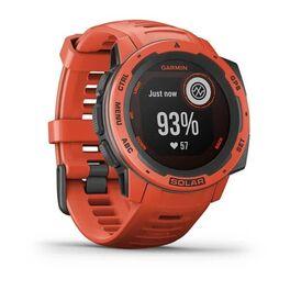 Защищенные GPS-часы Garmin Instinct Solar, цвет Flame Red (010-02293-20) #1