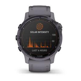 Мультиспортивные часы Garmin Fenix 6S Pro Solar GPS, аметистовый с темно-серым ремешк (010-02409-15) #7