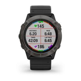 Мультиспортивные часы Garmin Fenix 6X Sapphire с GPS, серые с черным ремешком (010-02157-11) #5