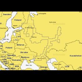 Карта navionics 52xg Вся европейская часть России (52xg west russia). Артикул: 52XG West Russia