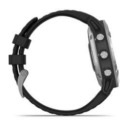 Мультиспортивные часы Garmin Fenix 6 с GPS, серебристые с черным ремешком (010-02158-00) #4