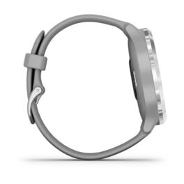 Часы с трекером активности Garmin VivoMove 3, серебр. с серым силиконовым ремешком (010-02239-20) #4