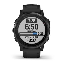 Мультиспортивные часы Garmin Fenix 6S PRO с GPS, черные с черным ремешком (010-02159-14) #1