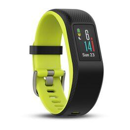 Фитнес-браслет Garmin VivoSPORT c GPS и встроенн. пульсом., серый-лайм, размер L (010-01789-23) #2