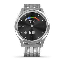 Часы с трекером активности Garmin VivoMove Luxe серебристый с серебристым ремешком (010-02241-23) #6