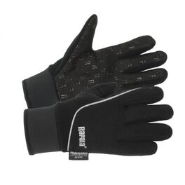 Перчатки rapala stretch grip, размер l, черные. Артикул: RSG-L