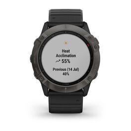 Мультиспортивные часы Garmin Fenix 6X Sapphire с GPS, серые с черным ремешком (010-02157-11) #7