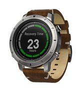 Мультиспортивные часы Garmin Fenix Chronos с кожаным браслетом (010-01957-00)
