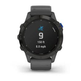 Мультиспортивные часы Garmin Fenix 6 Pro Solar с GPS, черный с серым ремешком (010-02410-11) #5