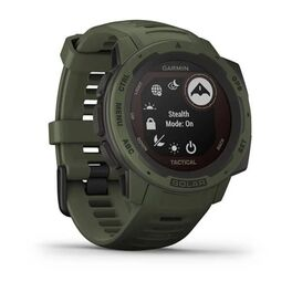 Защищенные GPS-часы Garmin Instinct Tactical, Solar, цвет Moss (010-02293-04) #1