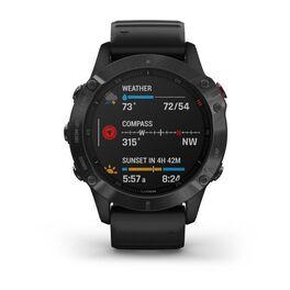 Мультиспортивные часы Garmin Fenix 6 PRO с GPS, черные с черным ремешком (010-02158-02) #3