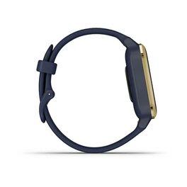 Смарт-часы Garmin Venu Sq NFC Music с золотистым безелем и синим ремешком (010-02426-12) #3
