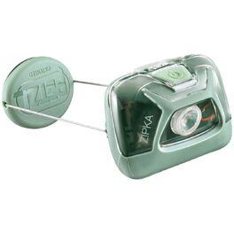 Фонарь налобный petzl zipka, зеленый. Артикул: E093GA01