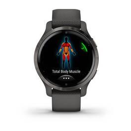 Смарт-часы Garmin Venu 2S, Wi-Fi, GPS, серые с силиконовым ремешком (010-02429-10) #4