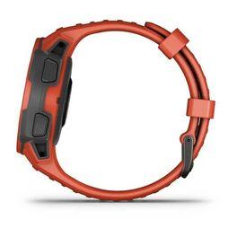 Защищенные GPS-часы Garmin Instinct Solar, цвет Flame Red (010-02293-20) #8