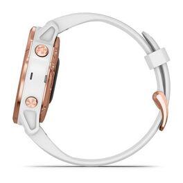 Мультиспортивные часы Garmin Fenix 6S PRO с GPS, розов.золото с белым ремешком (010-02159-11) #9